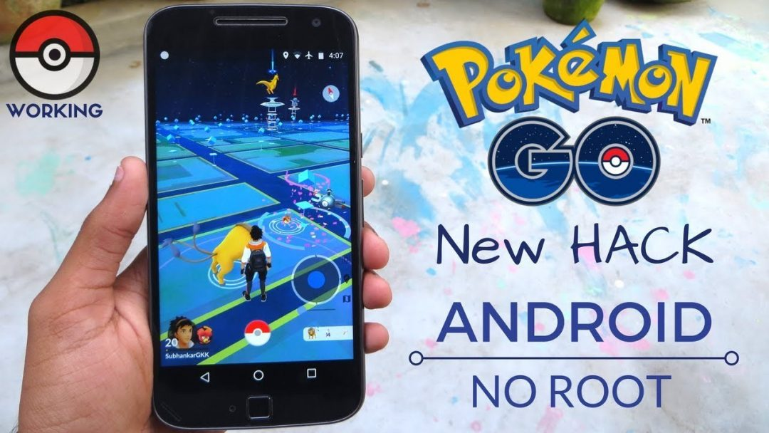 Pokemon Go APK Mod With Joystick