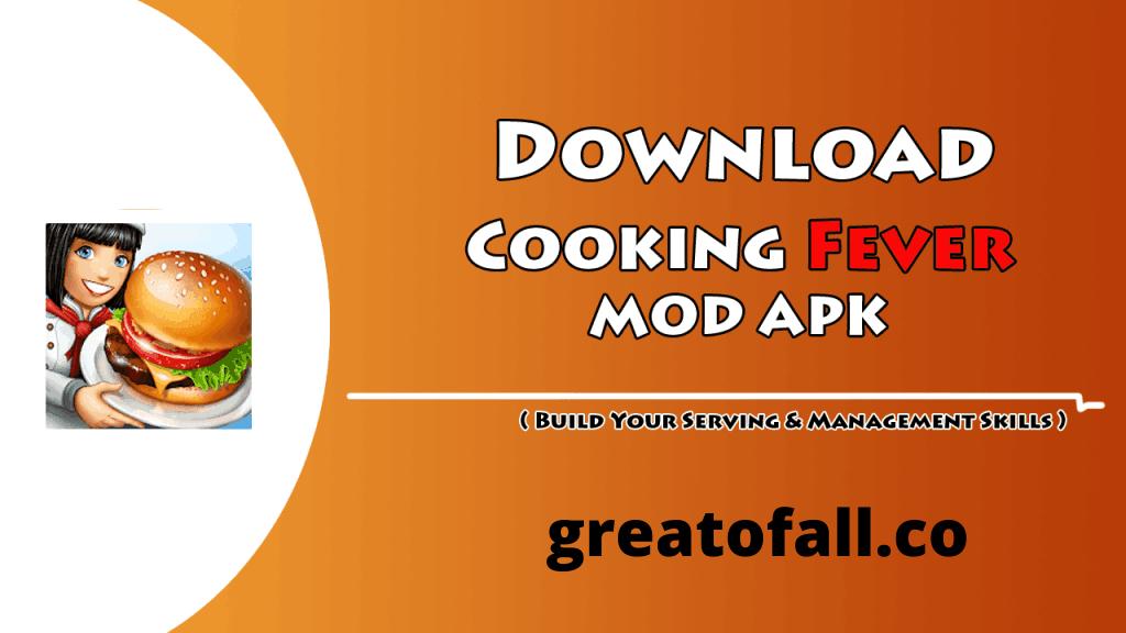 Cooking Fever Mod APK Unlimited Gems