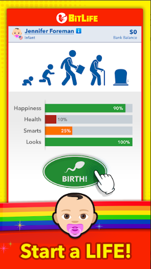 Bitlife Mod APK Royalty With Unlimited Money