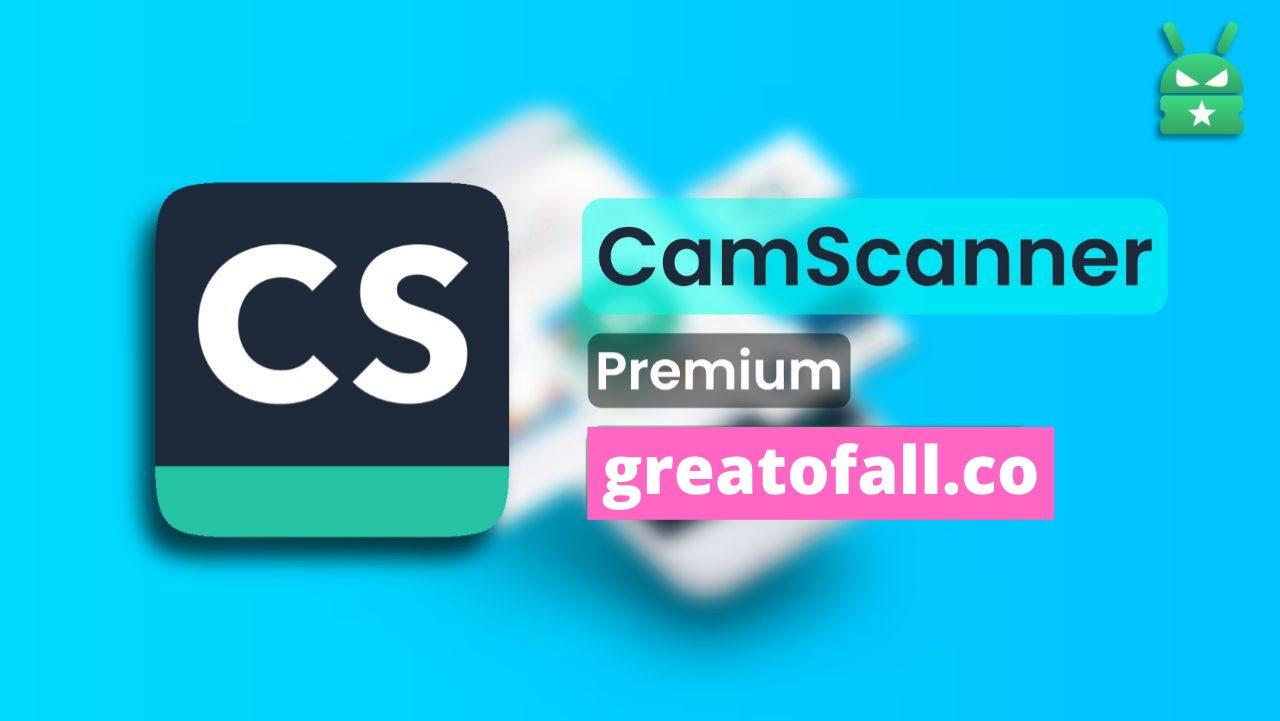 Camscanner Premium apk