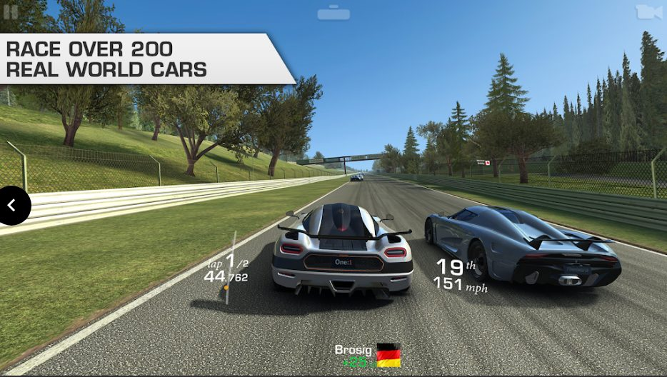 Real Racing 3 Mod APK All Unlock