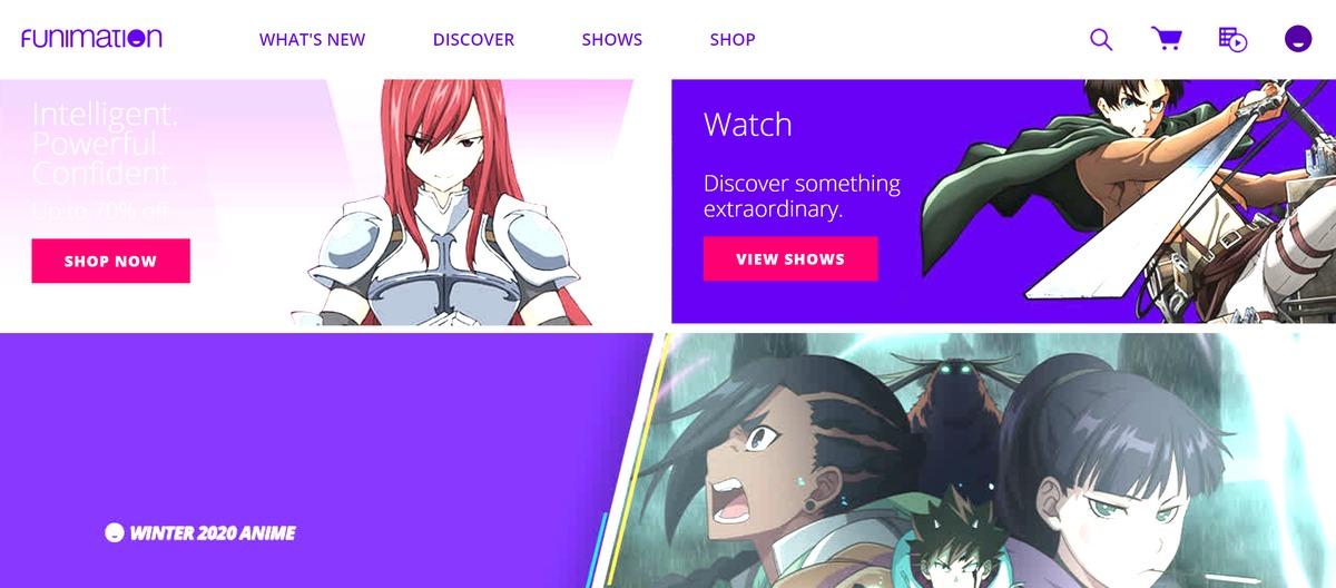 Funimation Mod APK Ad-free Version 2021