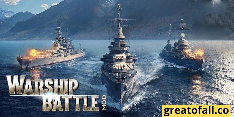 Warship Battle 3D Mod APK All Ships Unlocked